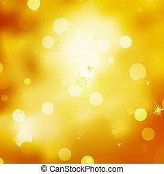 glittery, goud, kerstmis, achtergrond., eps, tien
