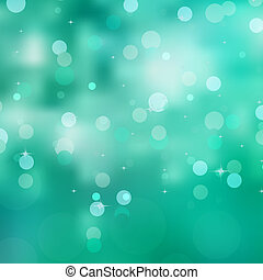 Glittery green Christmas background. EPS 8 vector file included