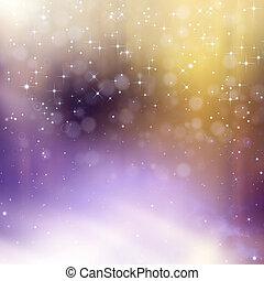 glittery, gyönyörű, bokeh, háttér