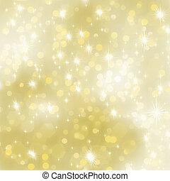 glittery, hintergrund., eps, gold, 8