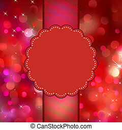 Glittery multicolor Christmas background. EPS 8 vector file included