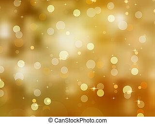 glittery, or, eps, arrière-plan., 8, noël
