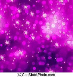 Glittery purple Christmas background. EPS 8 vector file included