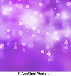 Glittery purple Christmas background. EPS 8