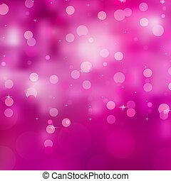 glittery, różowy, eps, tło., 8, boże narodzenie