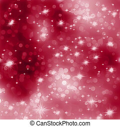 Glittery red Christmas background. EPS 8