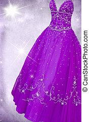 glittery, suknia