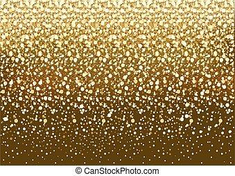 glitzer, gold, hintergrund
