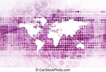 globális, felülmúlni, program