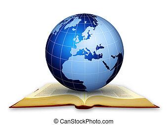 globális, könyvtár