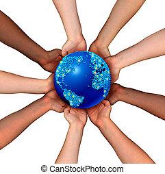 globális, kapcsolatok