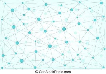 globaal, achtergrond, netwerk
