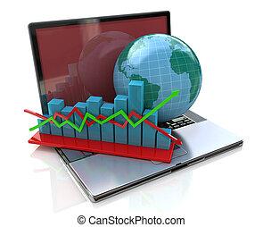 globaal, analyse, zakelijk
