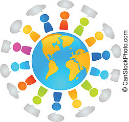 globaal, dialoog