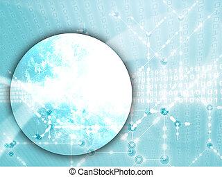 globaal, gegevensoverdracht