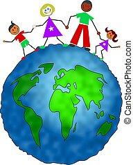 globaal, gezin