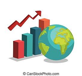 globaal, groei, ontwerp