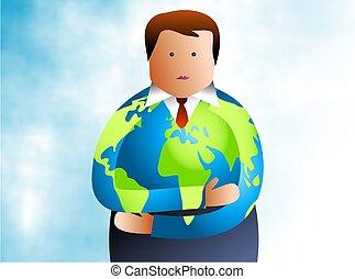 globaal, man