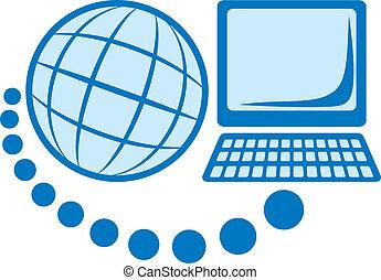 globaal net, pictogram