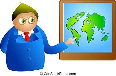 globaal, presentatie