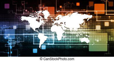 globaal, technologie