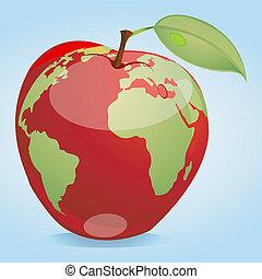 global, äpple