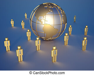 global, équipe