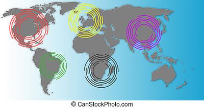 global økonomi, begreb branche