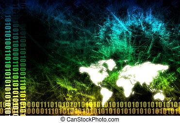 global økonomi, firma, baggrund