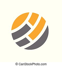Global Abstract Logo