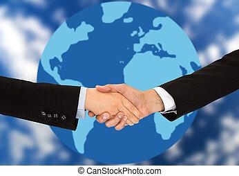 global, affär