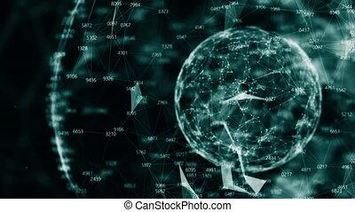 global, application., réseau, business, /