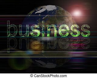 Business - Global background series- Business