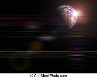 Rising Earth - Global background series- Rising Earth