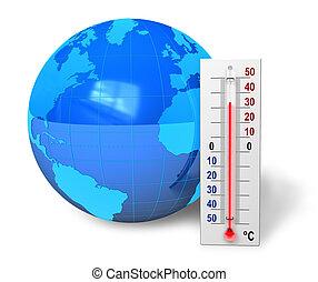 global, begrepp, warming