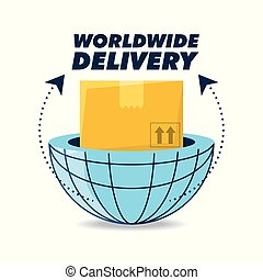 global box package to delivery service