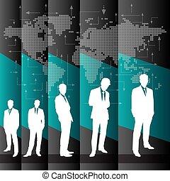 global branche, baggrund