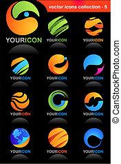 global branche, iconerne
