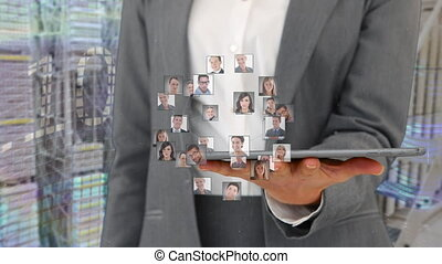 Global business connections