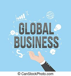 global business illustration