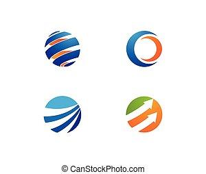 global business  logo vector