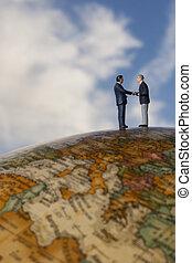 Global business meet