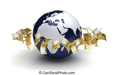 Global Business South Korean Won Currency