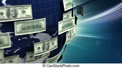 Global Business with Dollar (seamless)
