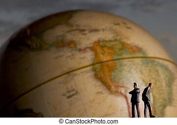Global businessmen