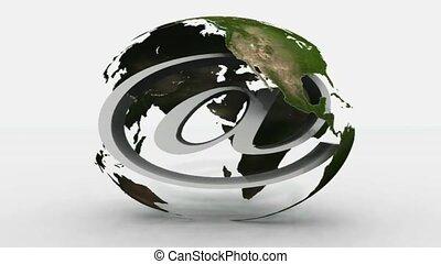 @, global