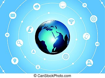 Global Communication Concept