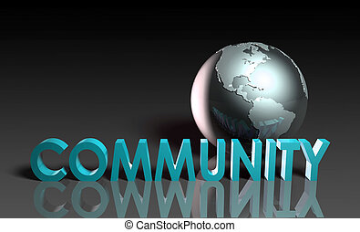 Global Community Concept of Online Forum Art