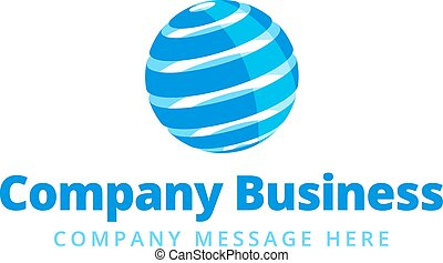 Global Company Business Logo Symbol
