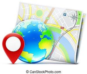 global, conceito, navegação